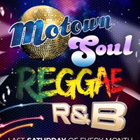 Soul reggae Motown and r&ampb night