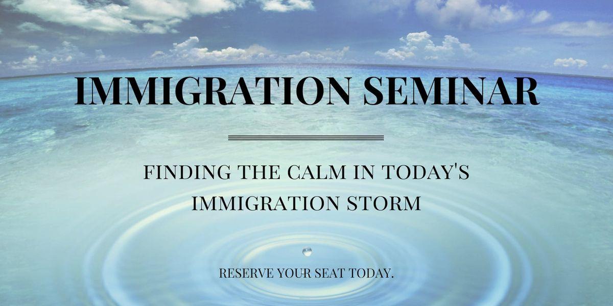 2019 Foster Immigration Seminar (Houston)