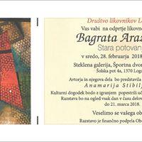 Likovna razstava Bagrata Arazyana