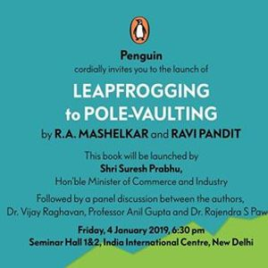 Leap Frogging to Pole-Vaulting Book Launch