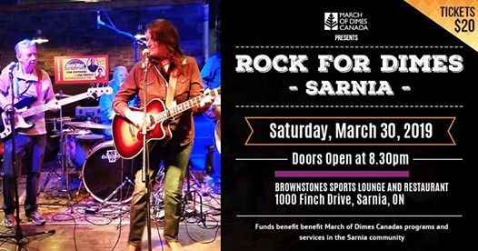 Rock For Dimes Sarnia 2019