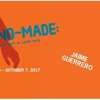 Jaime Guerrero artist talk Sept 23 4pm