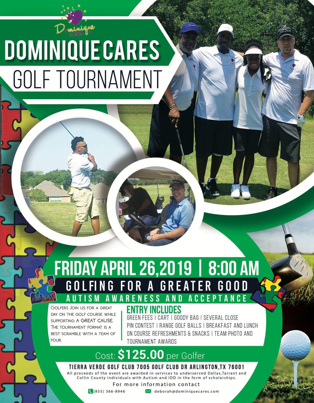 Dominique Cares Golf Tournament