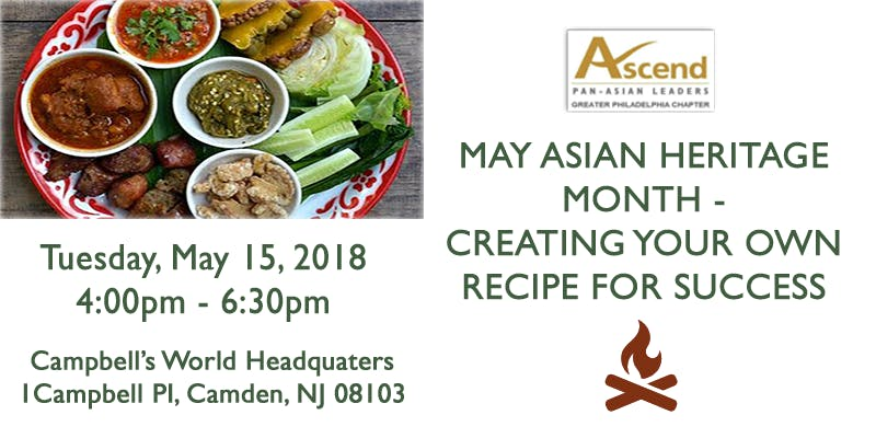 May Asian Heritage Month Creating Your Own Recipe For