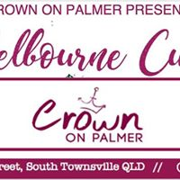 Melbourne Cup with Crown on Palmer