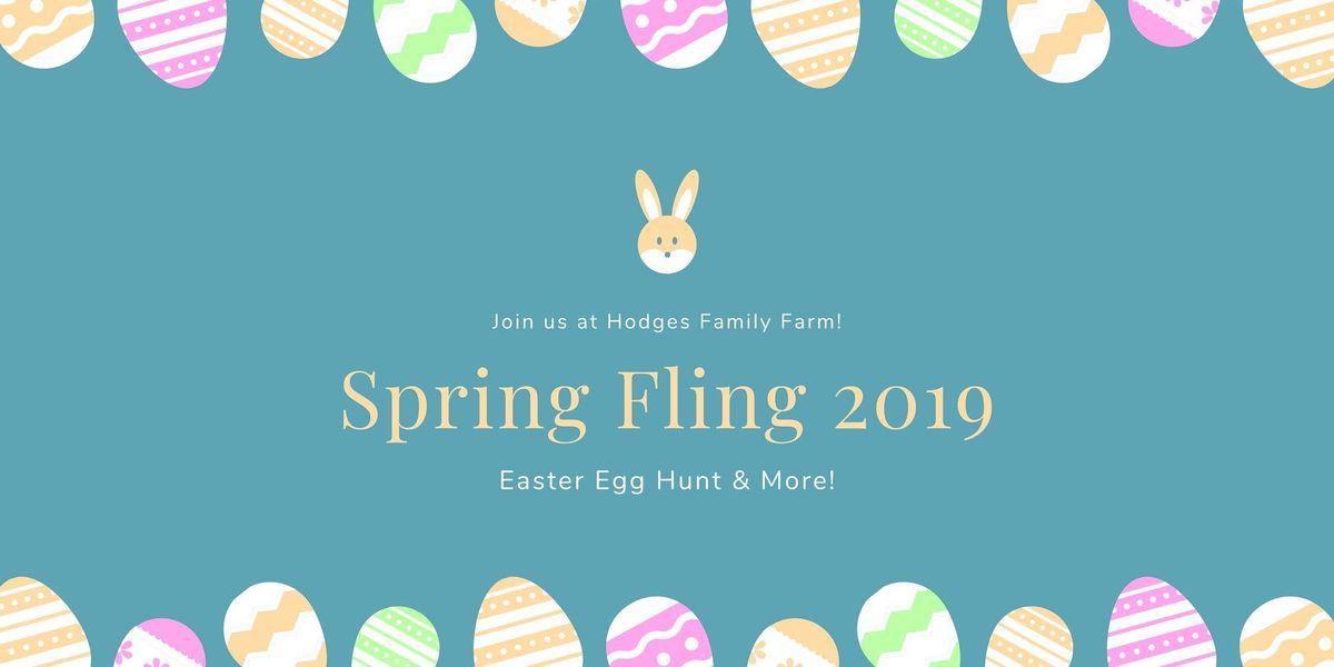 Spring Fling 2019 - Easter Egg Hunt & More