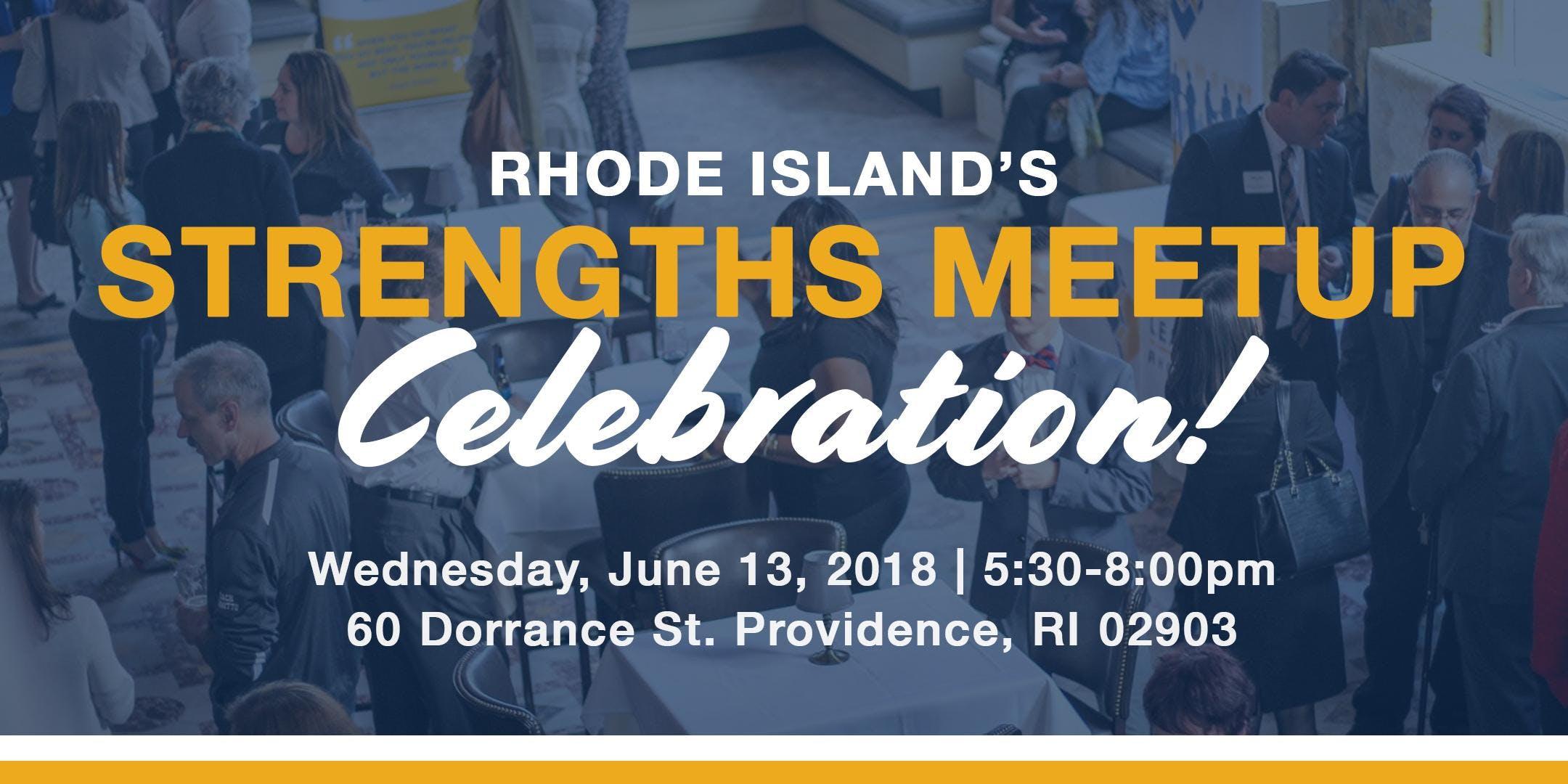 RIs Strengths Meetup Celebration