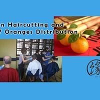 Yuan Haircutting and CNY Oranges Distribution