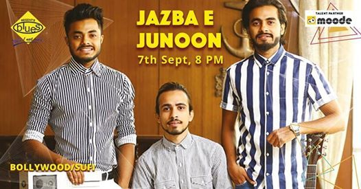 Friday Bollywood Night With Jazba E Junoon Band at Blues