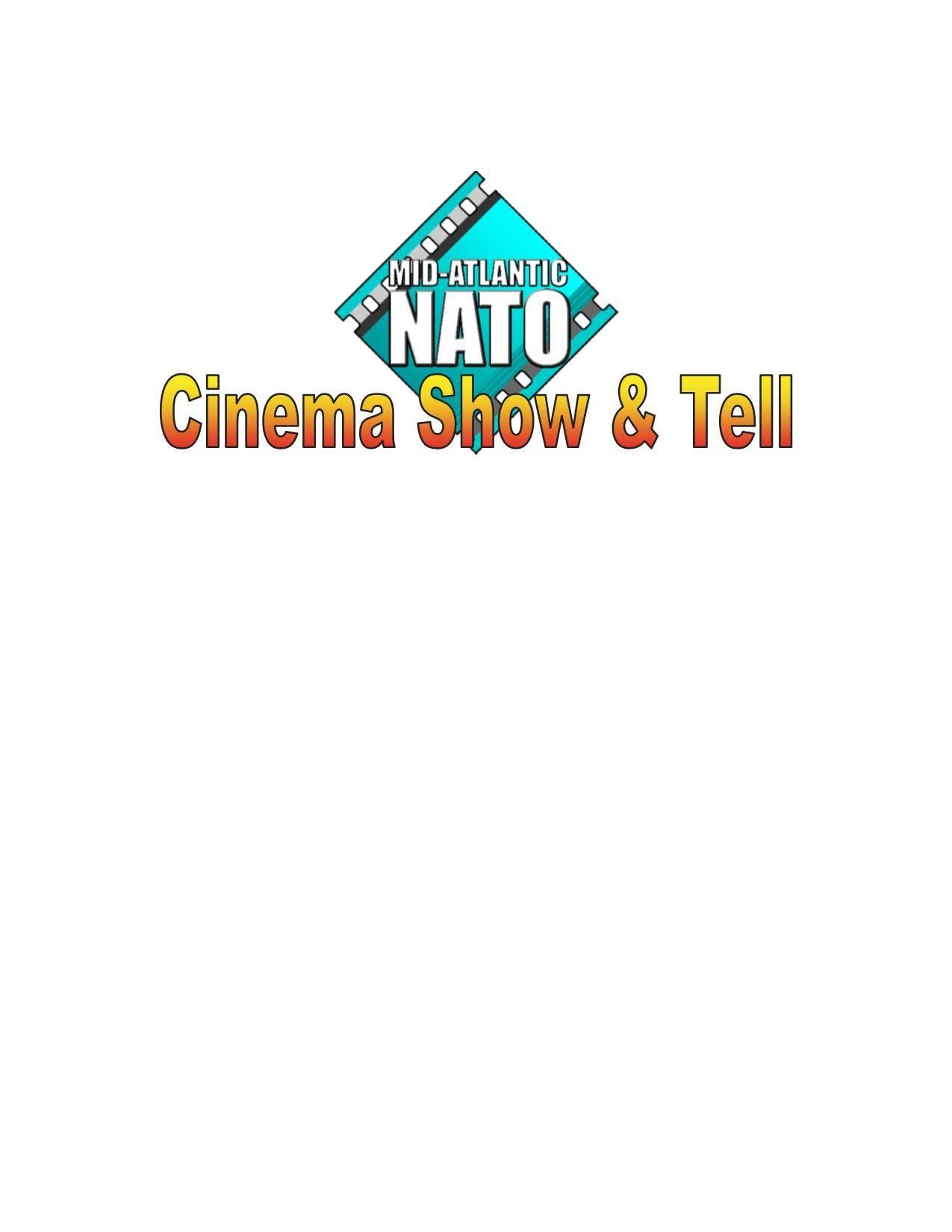 Mid-Atlantic NATO &quotCinema Show &amp Tell&quot 2018   Vendors Registration Page