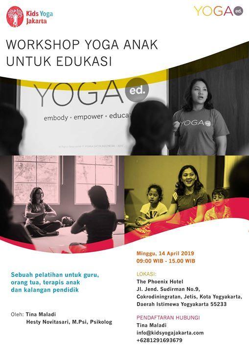 Workshop Mengenal Yoga Anak Untuk Edukasi
