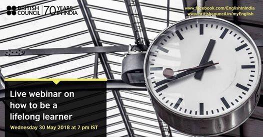 Live Webinar on How to be a lifelong learner