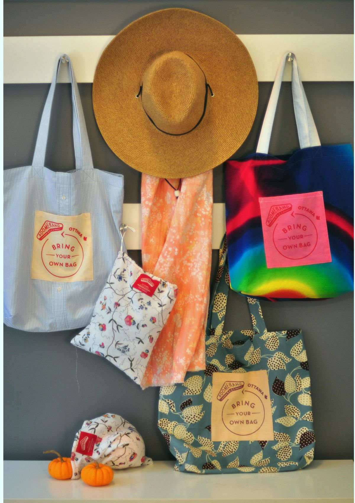 Make Your Own Shopping Bag from Recycled Fabric