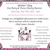Mothers Day Tea Party &amp Purse Auction
