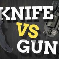 Knife Vs Gun Workshop. Who wins