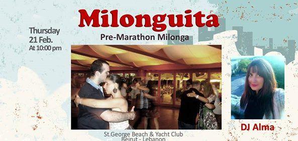 Milonguita pre-Marathon Milonga