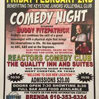 Comedy Night to Benefit Keystone Juniors