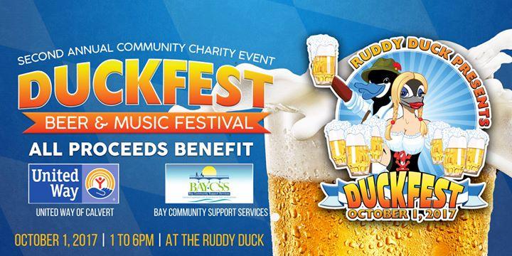 Duckfest Oktoberfest Beer & Music Fundraiser