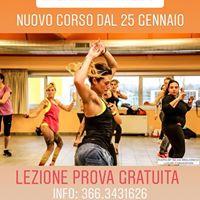 Prova Gratuita di SAMBA Fitness  Nuovo Corso 2018