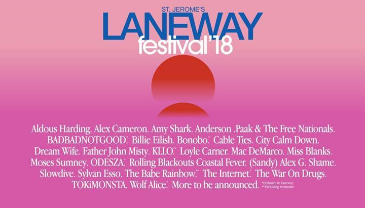 Father John Misty Live at Laneway Festival in Singapore