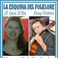 Maria Luisa DEla y Daniel Cordova en &quotlos sbados de la esquina