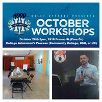 College Admissions Process Workshop
