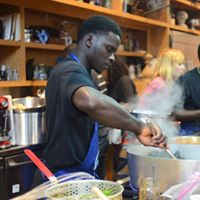 Seneglaese Cooking Demo and Tasting with Chef Sering on Saturday