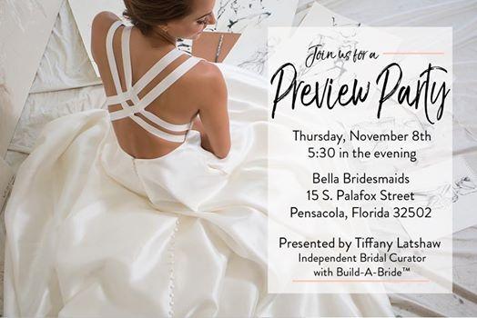 9f68c912e63 Build-A-Bride Preview Party at Bella Bridesmaids (Pensacola)15 ...