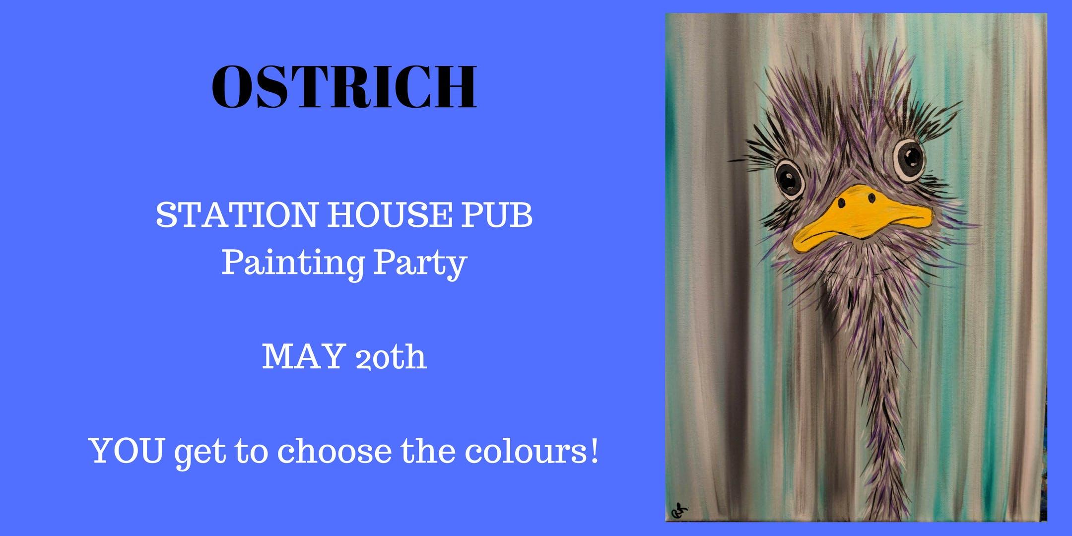 Stationhouse Bar & Grill Aldergrove  - Ostrich