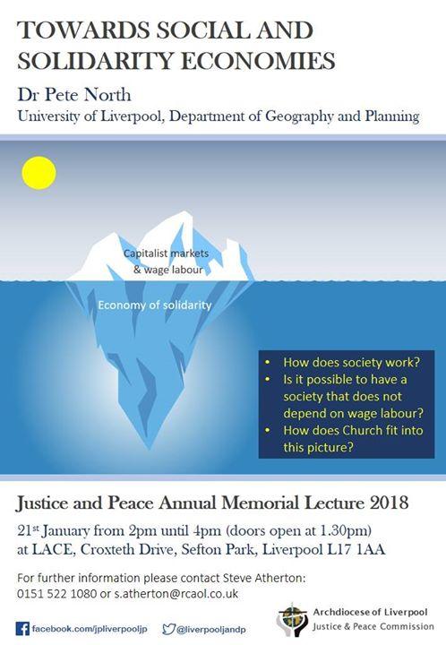 Towards Social and Solidarity Economics -Annual Memorial Lecture