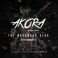AKORA Workmans Club 30th November