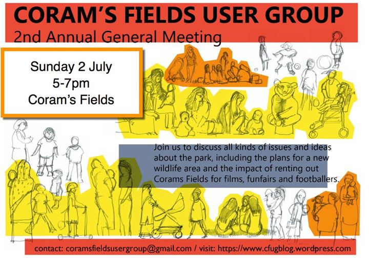 Second AGM Corams Fields User Group