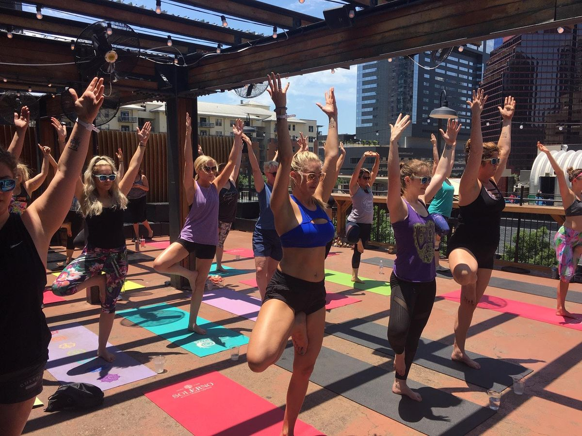 Rooftop Yoga in Downtown ATX