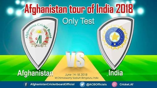 Afghanistan vs India Only Test 2018