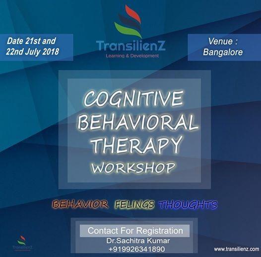 CBT Workshop Bangalore