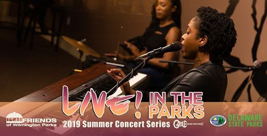 Live! in the Parks ft  Joy Ike at Rockford Park, Wilmington