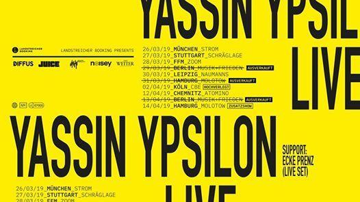 Yassin  Kln  Club Bahnhof Ehrenfeld (Hochverlegt)