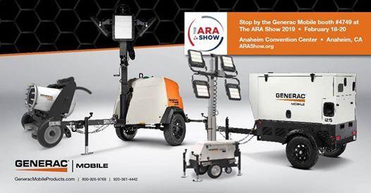 Generac Mobile at The ARA Show 2019