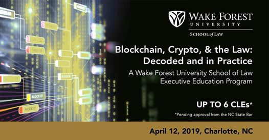 Blockchain Crypto & the Law Decoded and in Practice