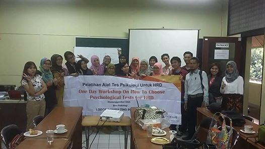 Workshop Alat Tes Khusus Kalangan Psikologi