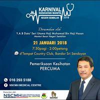 Karnival Kesihatan Wanita Negeri Sembilan 2018