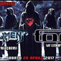 Testament vs Tool Tribute Live  Exenzia Rock Samstag