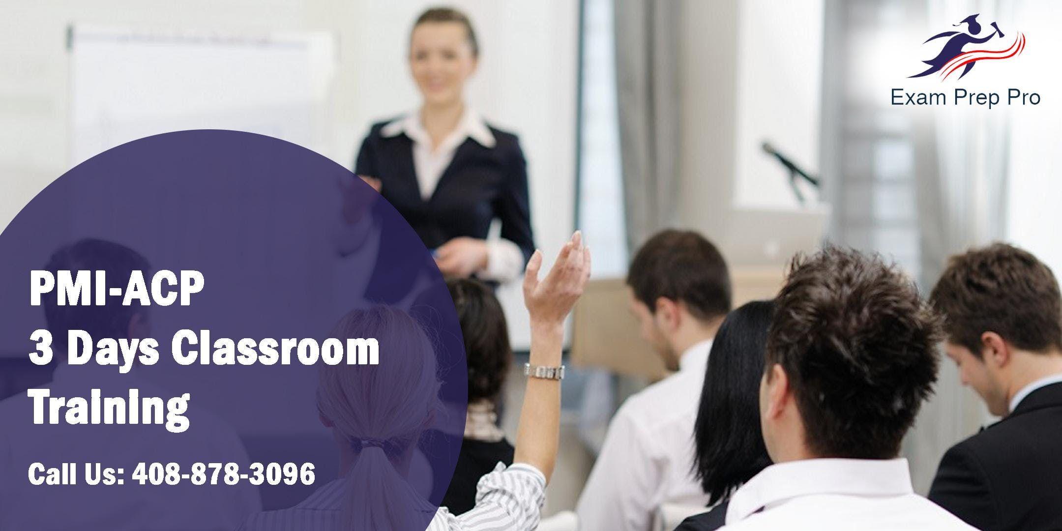 PMI-ACP 3 Days Classroom Training in CharlotteNC