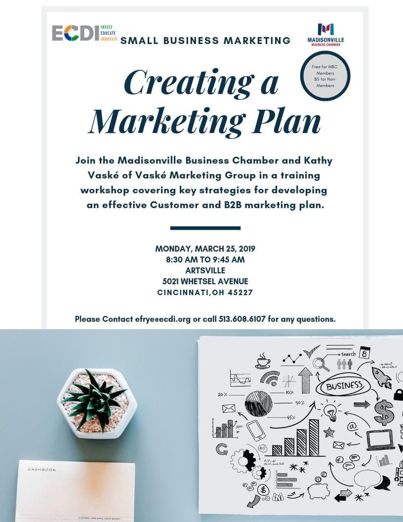 Creating a Marketing Plan for Small Businesses