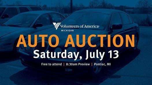 Voa Auto Auction >> Auto Auction On July 13 At 618 E Walton Blvd Pontiac Mi 48340 1359
