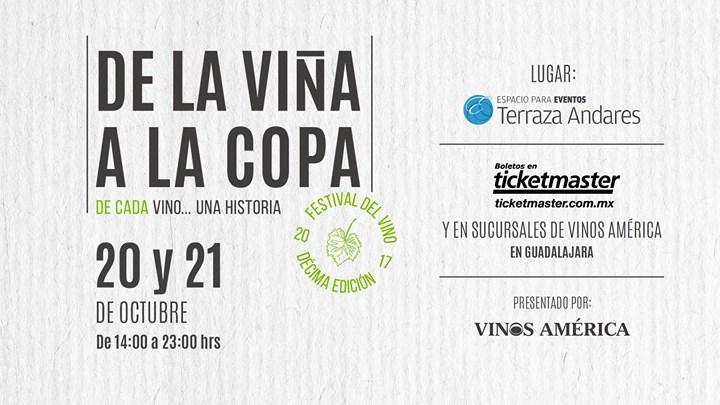 Festival De La Viña A La Copa At Terraza Andares Guadalajara