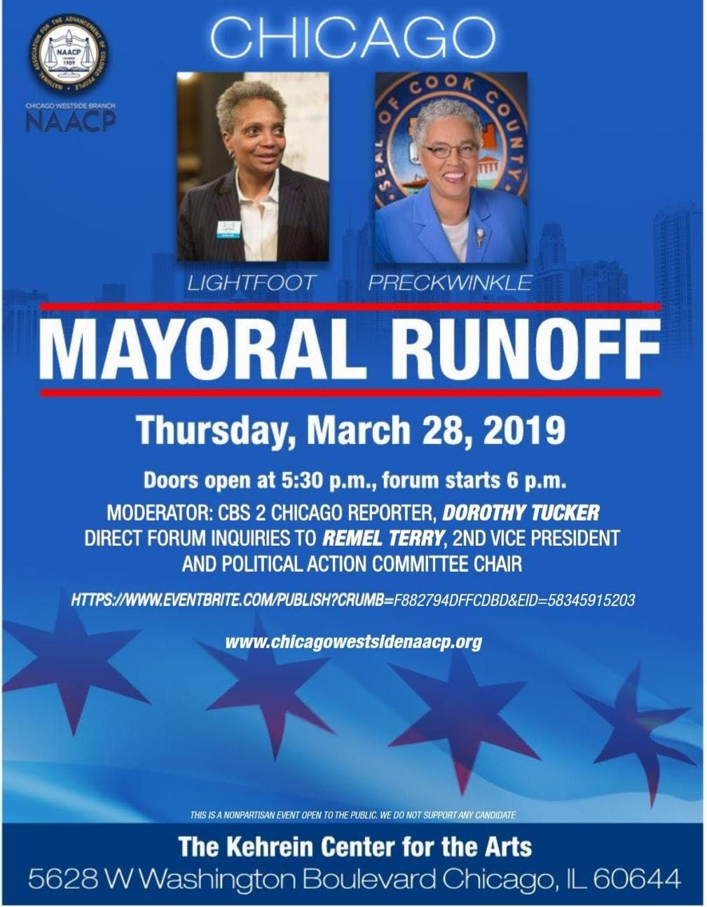 Chicago Westside NAACP IL Mayoral Runoff Forum