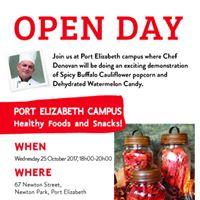 Open Day at Port Elizabeth Campus
