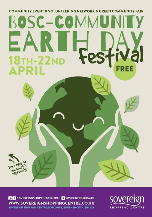 Bosc-CommUNITY Earthday & Well Being Festival 18th-22th April