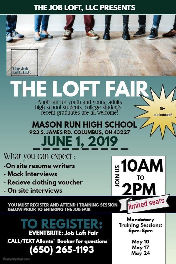Job Loft Fair- Training Session